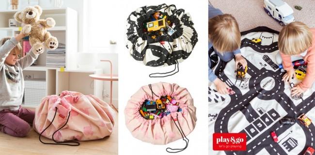 63610bfdd14 Testers gezocht: Play & Go opbergzak/speelkleed - Blabloom online ...