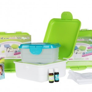 De maxi-kit van Cheeky Wipes, perfect om mee te starten!