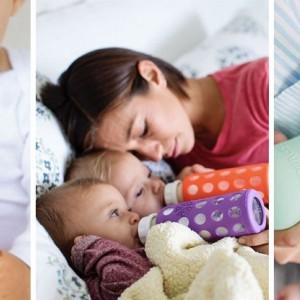 Flesvoeding: hoe groot moet een zuigfles zijn?