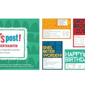 Testers gezocht: de leuke postkaarten van Kletspost!