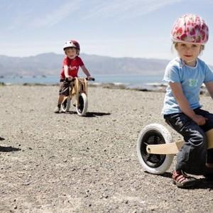 Sneller leren fietsen dankzij de loopfiets?