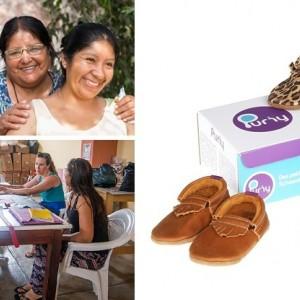 Kies voor de duurzame schoentjes van Puriy en help zo de vrouwen in Peru