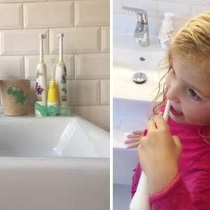 Een tandenborstel voor elke leeftijd
