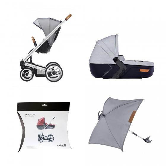 Uitgelezene Mutsy Igo Urban nomad Complete set + regenscherm wieg + parasol UG-42