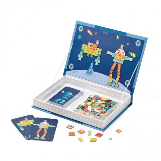 20170411&233749_Plak Mozaiek Badkamer ~ Janod XL Magneetboek 'Moza?ek Robot'  Blabloom