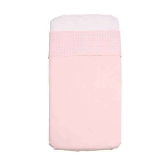 358998f5519401 Mundo Melocoton Laken 'Lis' ledikant roze - Blabloom online ...