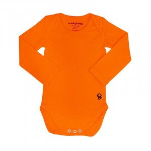Mambotango Body lange mouwen Oranje