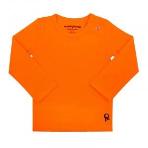 Mambotango T-shirt lange mouwen Oranje