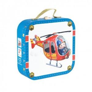 Janod Koffertje Puzzel De helikopter van Pierre