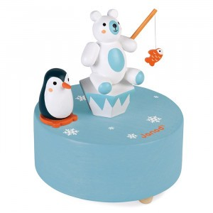Janod Muziekdoos IJsbeer en Pinguïn