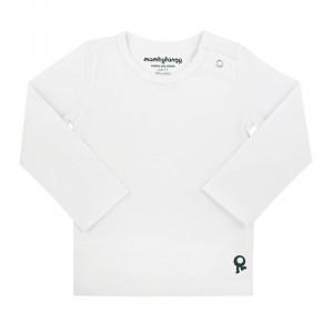 Mambotango T-shirt lange mouwen Wit