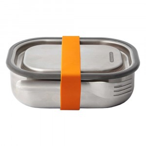 Black + Blum 3-in-1 Lunchbox / Ovenschotel Small - Orange