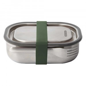 Black + Blum 3-in-1 Lunchbox / Ovenschotel Small - Olive