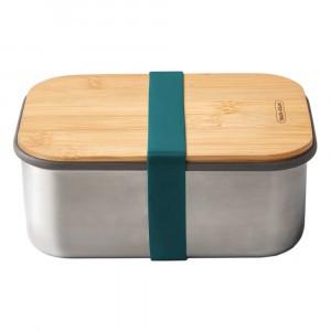 Black + Blum Lunchbox met Bamboe Deksel Large - Ocean
