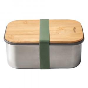 Black + Blum Lunchbox met Bamboe Deksel Large - Olive