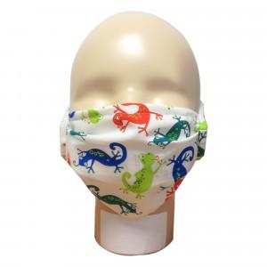 Popolini Wasbaar Mondmasker SIMPLE Gekko