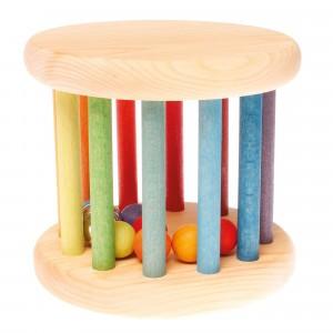 Grimm's Rollend Wiel Regenboogkleuren (15 cm)