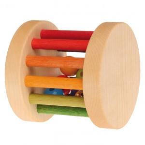 Grimm's Rollend Wiel Regenboogkleuren Mini (6 cm)