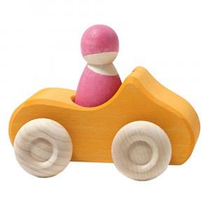 Grimm's Kleine Cabriolet Geel