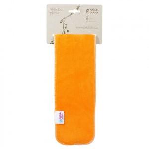 Petit Lulu Velour Booster Lang Oranje (58cm)