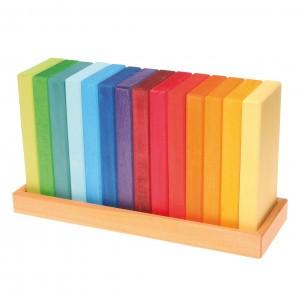 Grimm's Bouwset Gekleurde Planken