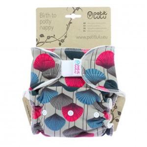 Petit Lulu One Size Luier Velcro Ginko (4-15kg)