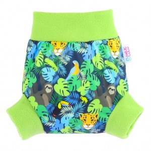 Petit Lulu Pull-Up Overbroekje XLarge Jungle