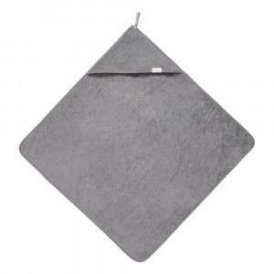 Koeka Badcape Dijon organic Steel Grey