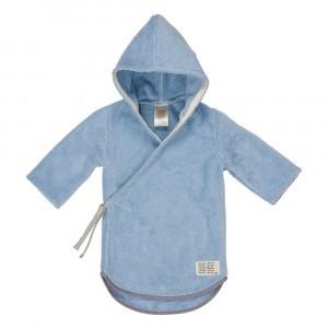 Koeka Baby Badjas Dijon organic Soft Blue