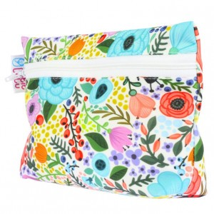 Petit Lulu Wet Bag Bloementuin