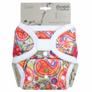 Petit Lulu One Size Overbroekje Velcro Colourful Orient (4-15kg)