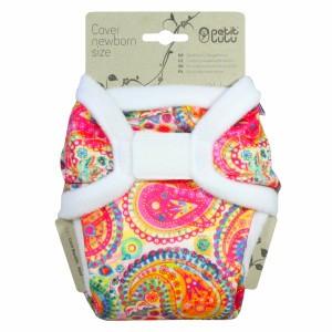 Petit Lulu Overbroekje Newborn Velcro Colourful Orient (2-6kg)