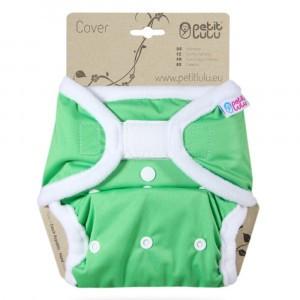 Petit Lulu One Size Overbroekje Velcro Groen (4-15kg)