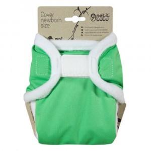 Petit Lulu Overbroekje Newborn Velcro Groen (2-6kg)