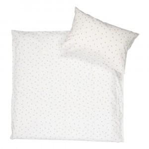 Koeka Dekbedovertrek Oaky (100 x 135 cm) Warm White