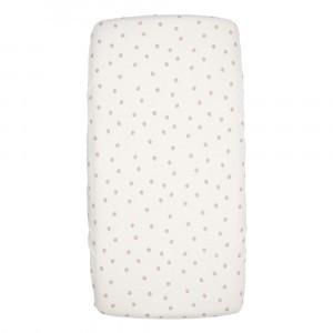 Koeka Hoeslaken Wieg Oaky (40 x 80 cm) Warm White