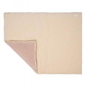Koeka Boxkleed Vik (75 x 95 cm) Sand/Grey Pink