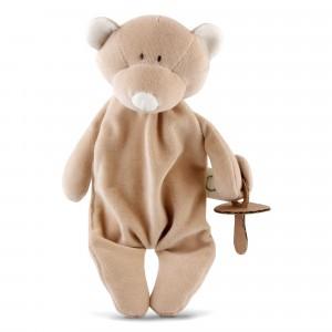 Wooly Organic Fopspeenknuffel Teddy