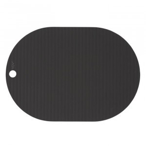 Oyoy Ribbo Placemat (2-pack) Black