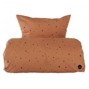 Oyoy Beddengoed Dot Caramel 140 x 200 cm
