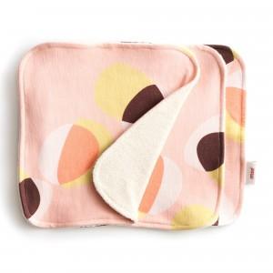 Imse Vimse Dubbelzijdige Gezichtsdoekjes (3-pack) Pink Hoop