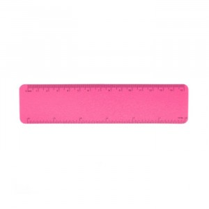 Ecobos Flexibele Meetlat 15 cm Roze