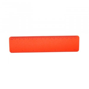 Ecobos Flexibele Meetlat 15 cm Rood