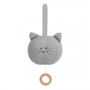 Lässig Gebreide Muziekmobiel Little Chums 'Cat'