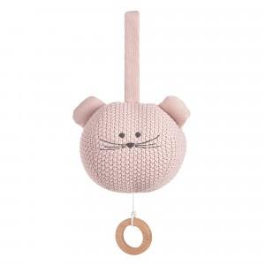 Lässig Gebreide Muziekmobiel Little Chums 'Mouse'