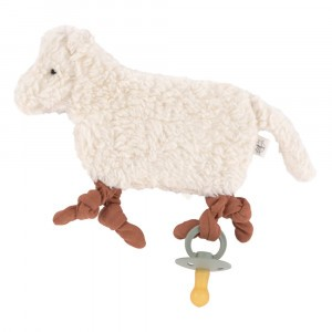 Lässig Gebreid Speendoekje Tiny Farmer Sheep