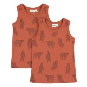 Trixie Onderhemdje (2-pack) Brave Bear