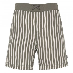Lässig Splash & Fun UV Zwemshort Stripes Olive