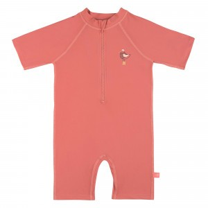 Lässig Splash & Fun UV Sunsuit Korte Mouwen - Mrs. Seagull Coral