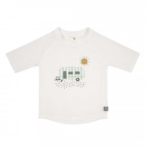 Lässig Splash & Fun UV T-Shirt Korte Mouwen Caravan White
